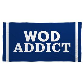 Cross Training Beach Towel WOD Addict