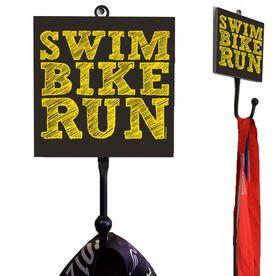 Medal Hook Swim Bike Run Stacked