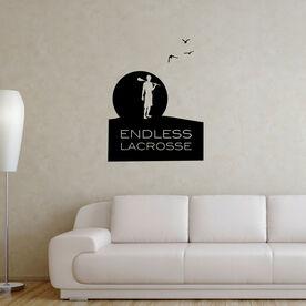 Guys Lacrosse Removable ChalkTalkGraphix Wall Decal - Endless Lacrosse