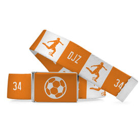 Soccer Lifestyle Belt Personalized Girl