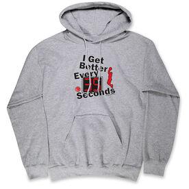 Basketball Standard Sweatshirt - I Get Better Every 35 Seconds