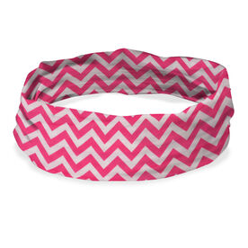 Original RokBAND Multi-Functional Headband (Chevron Pink)