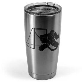 Hockey 20 oz. Double Insulated Tumbler - Goalie