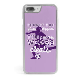 Soccer iPhone® Case - This Princess Wears Cleats
