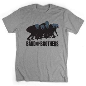 Football Tshirt Short Sleeve Football Band of Brothers