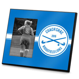 Field Hockey Photo Frame Field Hockey Coach