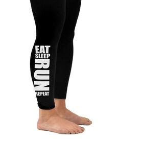Running Leggings Eat Sleep Run