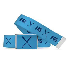 Softball Lifestyle Belt Number Pattern