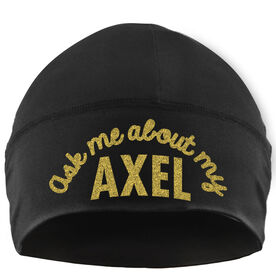 Beanie Performance Hat - Ask Me About My Axel