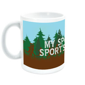 Cross Country Ceramic Mug My Sport Is your Sports Punishment
