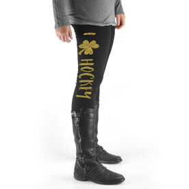 Hockey High Print Leggings I Shamrock Hockey