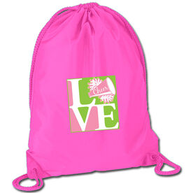 Love Cheerleading Sport Pack Cinch Sack