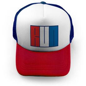 Running Trucker Hat - My Run USA