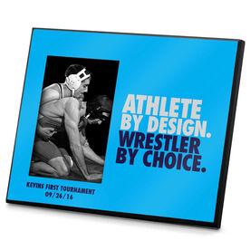 Wrestling Photo Frame Athlete By Design