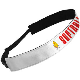 Julibands No-Slip Headbands Softball Chick