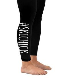 Skiing Leggings #SkiChick