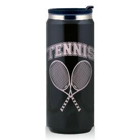 Stainless Steel Travel Mug Tennis Rackets