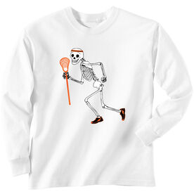 Lacrosse Long Sleeve T-Shirt - Never Stop Laxing