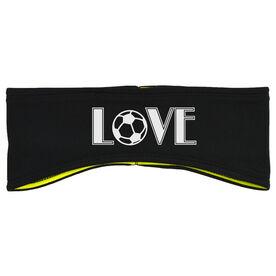 Soccer Reversible Performance Headband Love Soccer