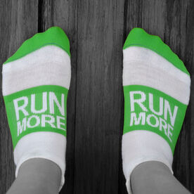 Socrates™ Woven Performance Sock Run More (Lime)