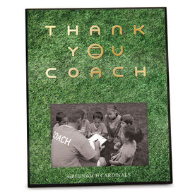 Tennis Photo Frame Thank You Coach