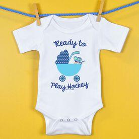 Hockey Baby One-Piece Ready To Play Hockey