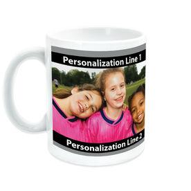 Soccer Ceramic Mug Custom Photo With Color