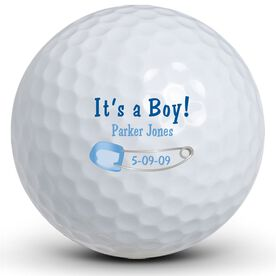 It's A Boy! Pin Golf Balls