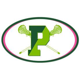 Car Magnet - Pentucket Youth Girls Lacrosse Logo (GREEN)