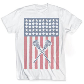 Vintage Lacrosse T-Shirt - USA Lax Girl