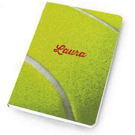 Tennis Notebook Tennis Ball