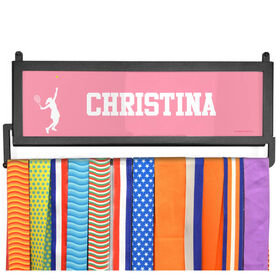 AthletesWALL Medal Display - Girl Silhouette With Personalization