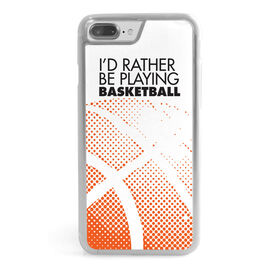 Basketball iPhone® Case - I'd Rather Be Playing Basketball