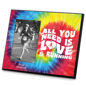 Running Photo Frame All You Need Is Love