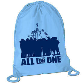 All for One (Blue) Sport Pack Cinch Sack