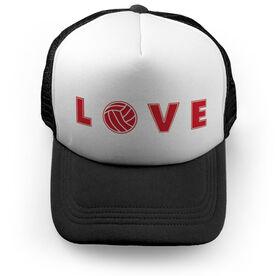 Volleyball Trucker Hat - LOVE Volleyball