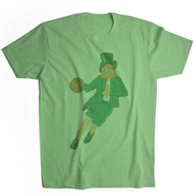 Basketball Vintage Lifestyle T-Shirt - Leprechaun