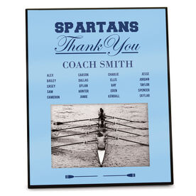 Crew Photo Frame Thank You Coach Roster