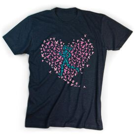 Youth T-Shirt Short Sleeve Run With Your Heart