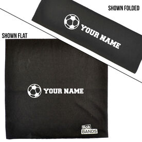 RokBAND Multi-Functional Headband - Personalized Name Soccer Ball