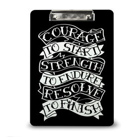 Running Custom Clipboard Courage To Start Tattoo
