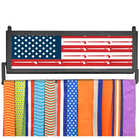 AthletesWALL Medal Display - American Flag