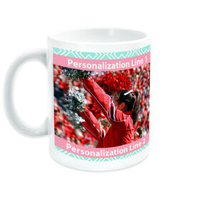 Cheerleading Ceramic Mug Custom Photo With Pattern