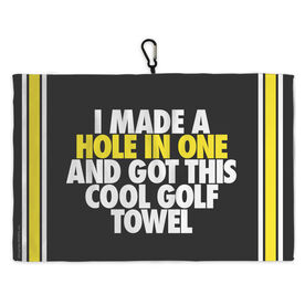 Golf Bag Towel Hole In One