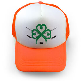 Hockey Trucker Hat - Luck Of Ice