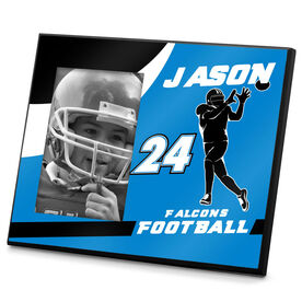 Football Photo Frame Personalized WR