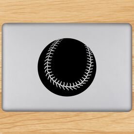Softball Graphic Removable ChalkTalkGraphix Laptop Decal