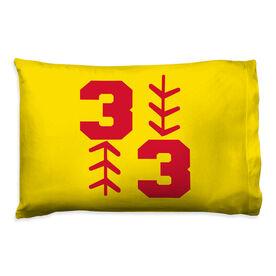 Softball Pillowcase - Three Up Three Down