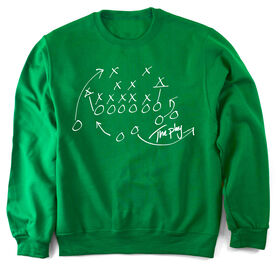 Football Crew Neck Sweatshirt The Play