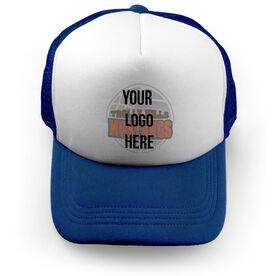 Basketball Trucker Hat Custom Team Logo